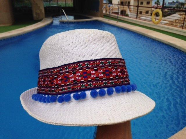 Mi sombrero de playa