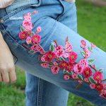 Parches florales para tus vaqueros y shorts