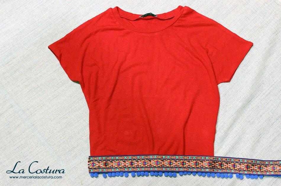 alargar-camiseta-top-crop-roja-tapacosturas-madrono