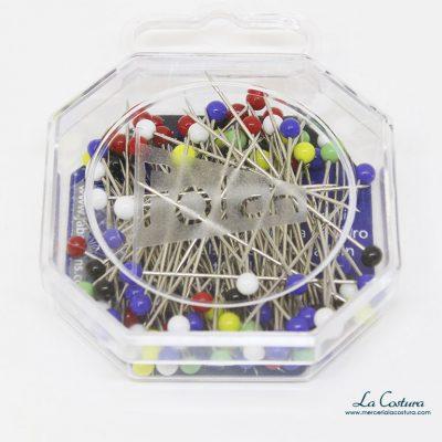 caja-de-alfileres-con-cabeza-de-vidrio-de-colores
