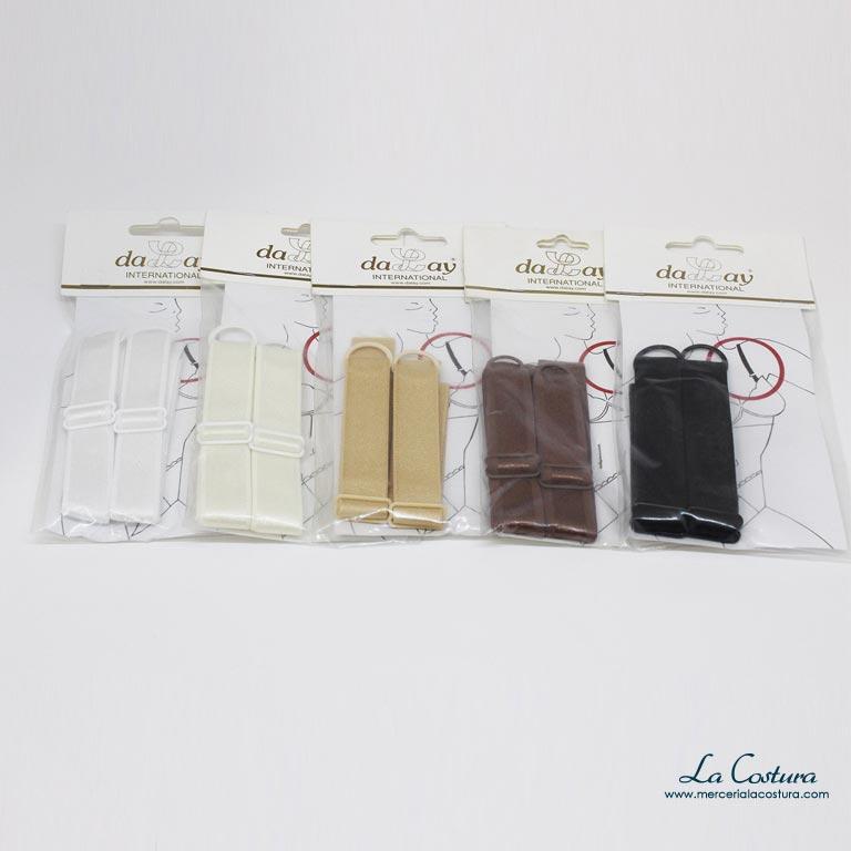 Tirantes de sujetador de coser de 18 mm - Mercería La Costura