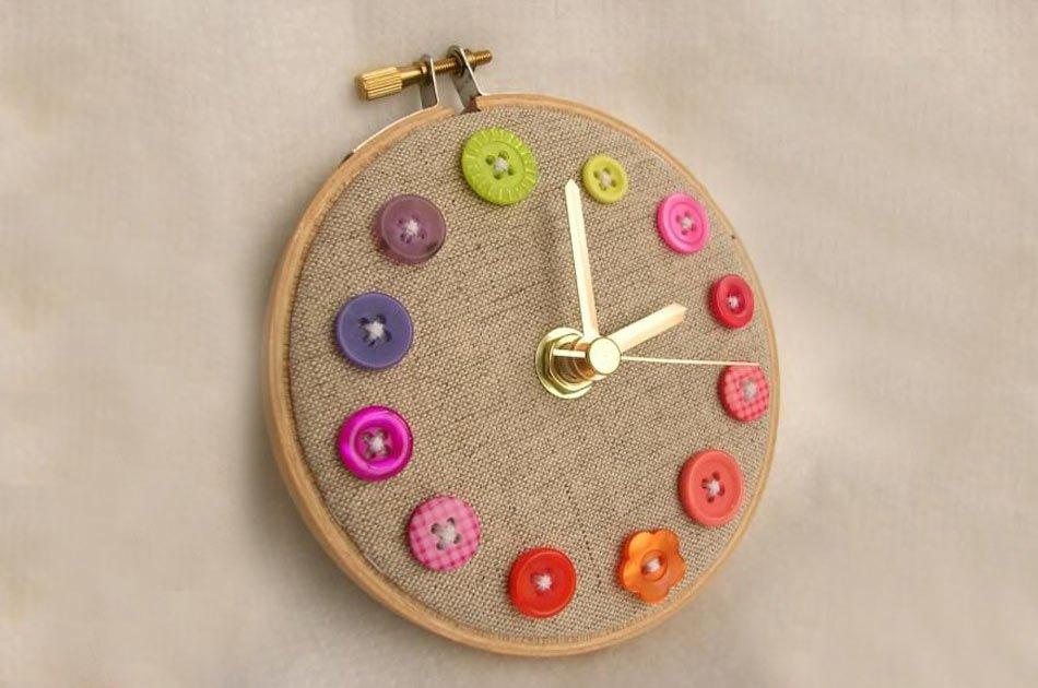 reloj-bastidor-botones-tela-saco