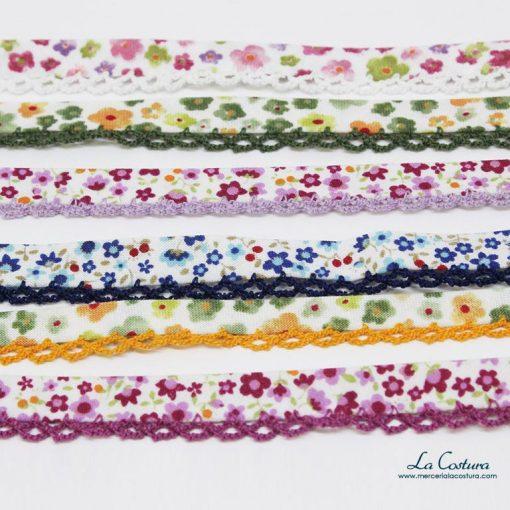 cinta-al-bies-estampado-floral-con-puntilla