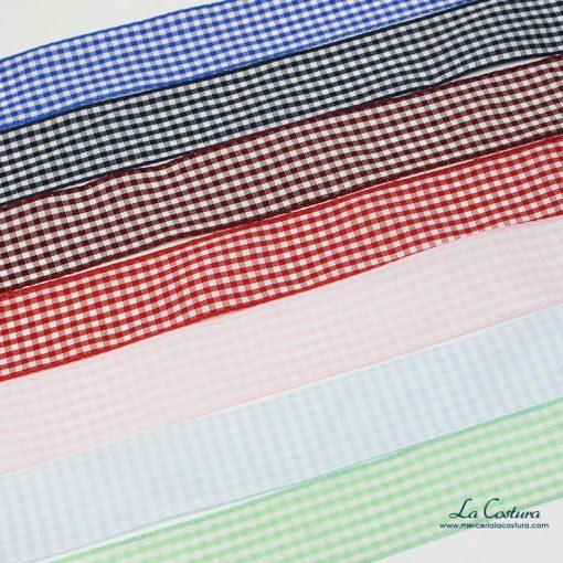 lazo-estampado-cuadro-vichy-24-mm