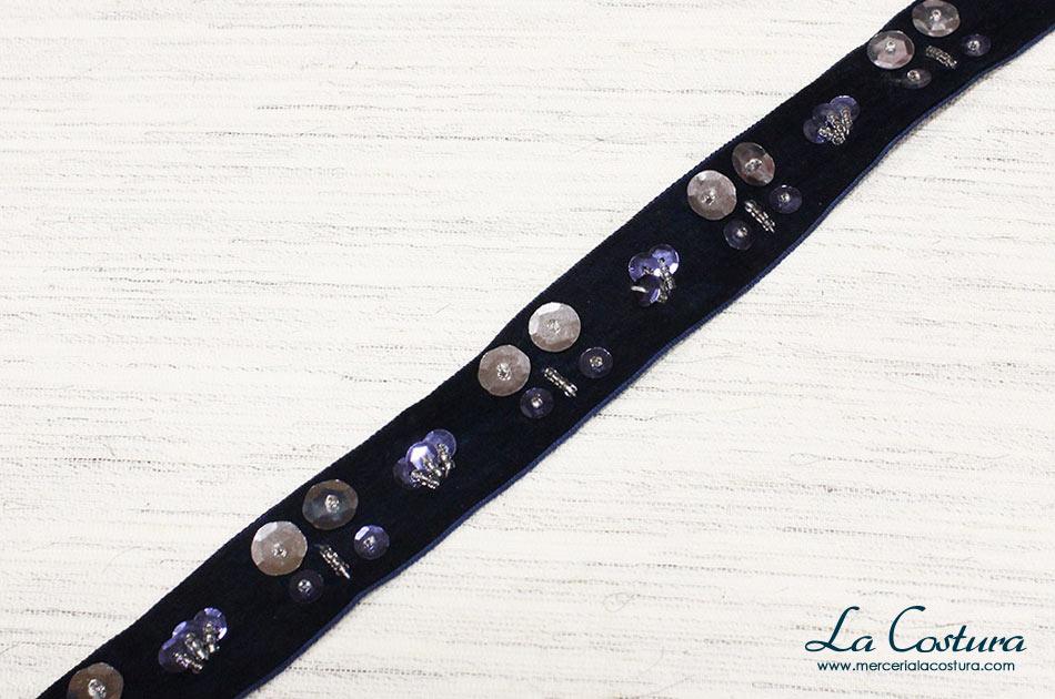 cinta-terciopelo-azul-marino-con-lentejuelas-y-abalorios