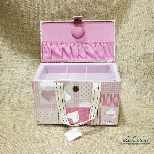 costurero-estampado-puntillas-rosa-palo-abierto