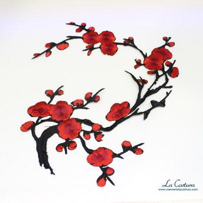 Parche rama y flor