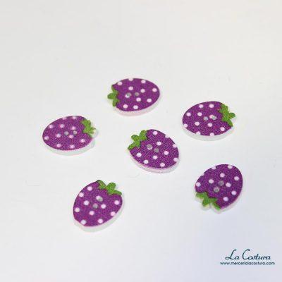Botón estampado fresa