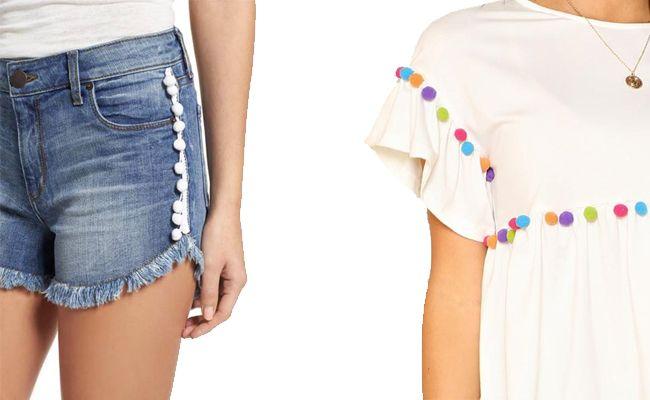 Pon un toque de color a tus looks de verano con pompones y borlas