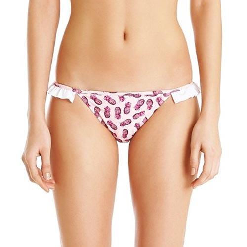 Braguita de bikini con volante en la zona lateral