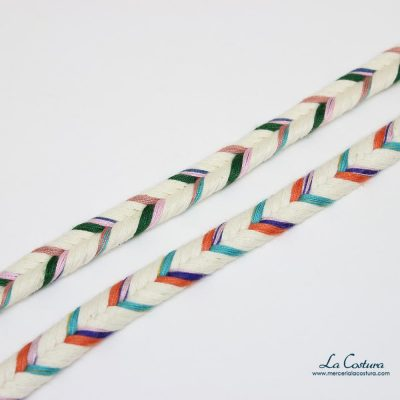 Cordón doble multicolor