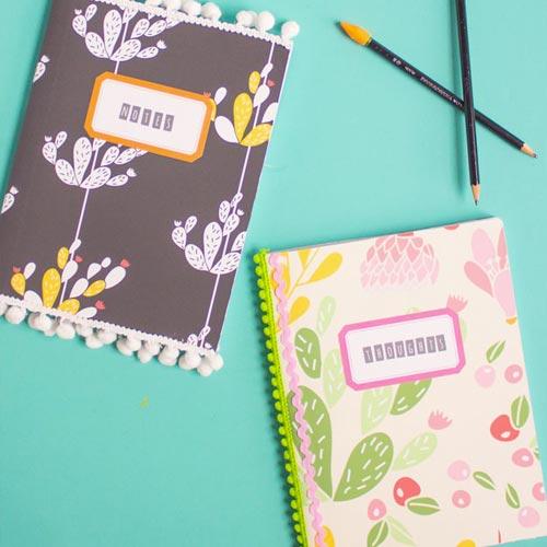 Cuaderno con madroños y ondulinas