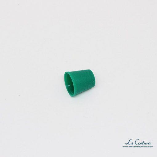 Dedal de plástico verde