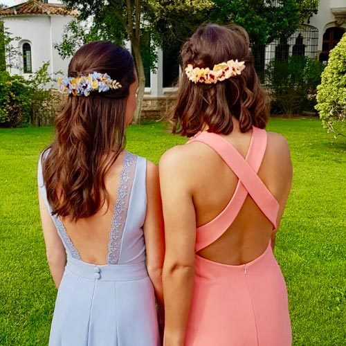 Coronas florales de Banoffee