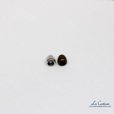 Tapanudos símil metal 1 cm