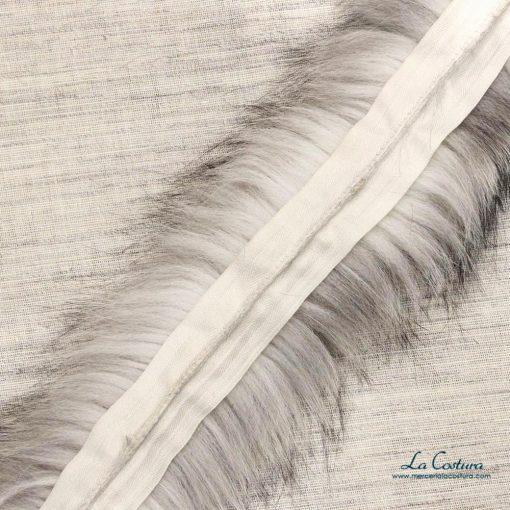 tira-de-pelo-natural-de-colores-gris-claro