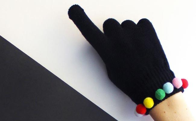 12 estilosas formas de customizar tus guantes de invierno