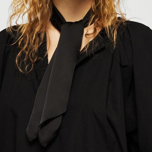 Corbata de lazo para mujer