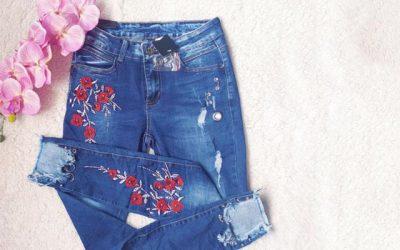 Cómo arreglar tus jeans favoritos: customizando