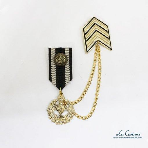 broche-galon-militar-dorado-escudo