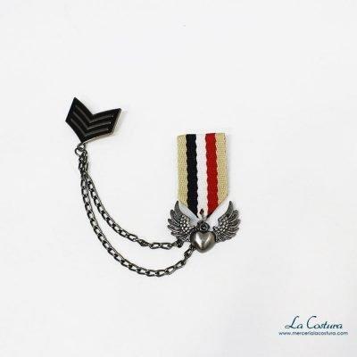 broche-militar-corazon-alas
