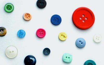 Ideas creativas con botones, DIY