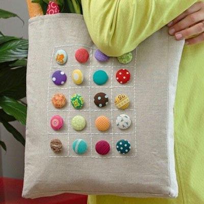ideas-creativas-botones-bolso-tela