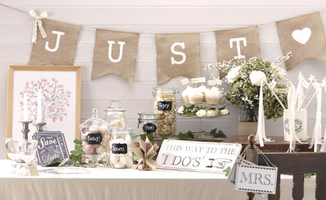 Detalles vintage para bodas