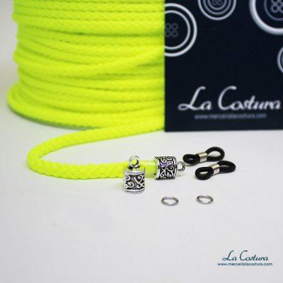 kit-cuelga-gafas-cordon-acrilico-fluor-amarillo