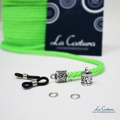 kit-cuelga-gafas-cordon-acrilico-fluor-verde