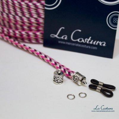 kit-cuelga-gafas-cordon-algodon-trenzado-rosa