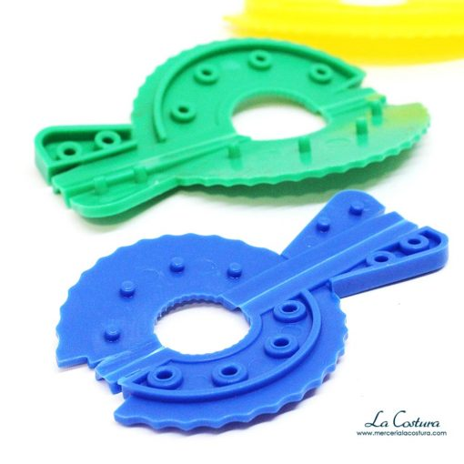 set-discos-hacer-pompones-colores