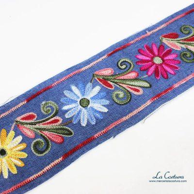 galon-denim-flores