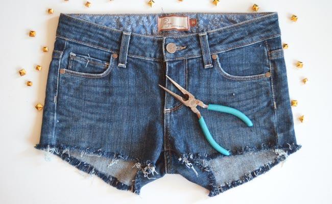 Convierte tu short de verano en una prenda única