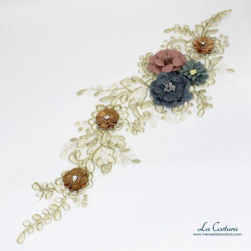 parche-ramas-y-flores-con-lentejuelas