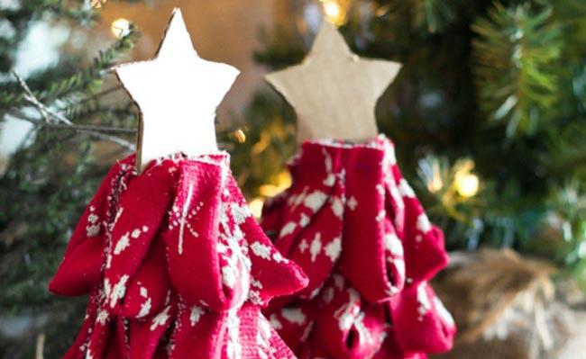 9 ideas para tu mini árbol de Navidad