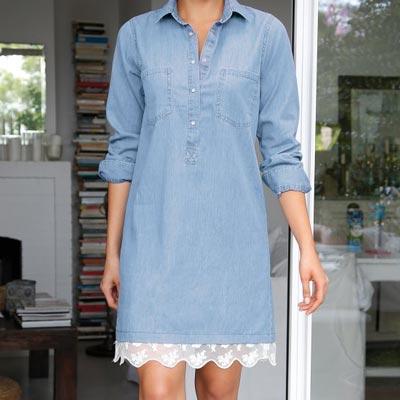 como-customizar-prendas-vaqueras-vestido-encaje