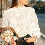 5 ideas para customizar blusas con encaje