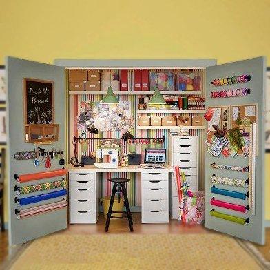 diferentes-formas-para-renovar-tu-cuarto-de-costura-armario