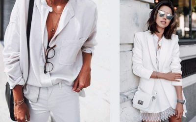 Apuesta por tu look en blanco y, ¡customiza!