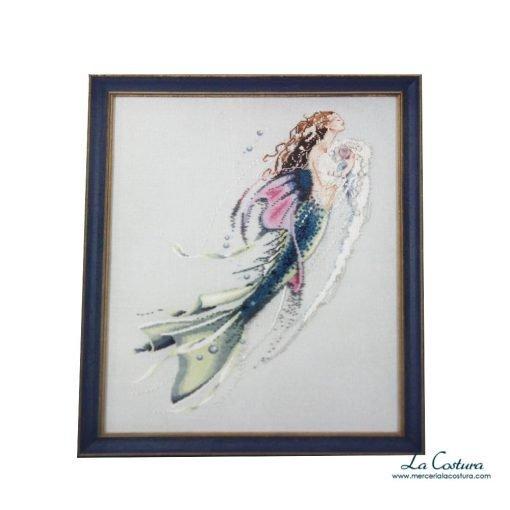esquema-punto-de-cruz-mermaid-of-the-pearls