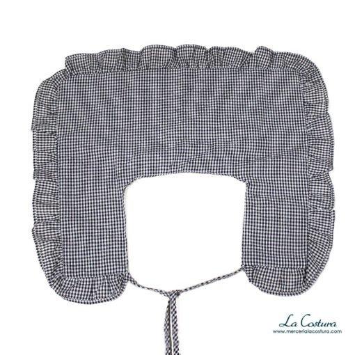 cuello-nylon-cuadro-vichy-detalles