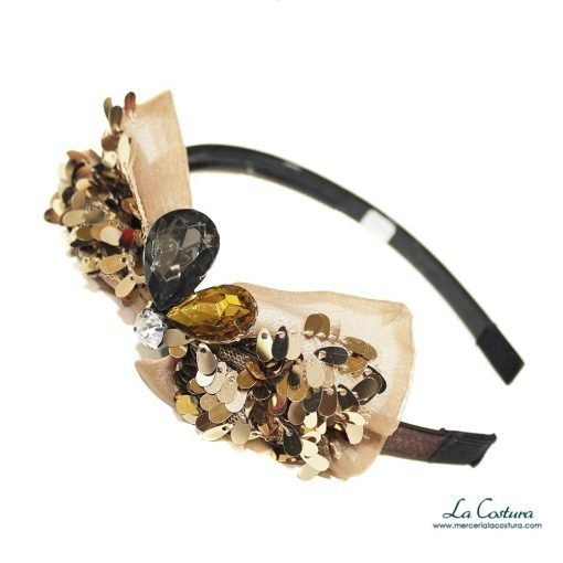 diadema-lazo-lentejuelas-piedras-acrilicas-dorado