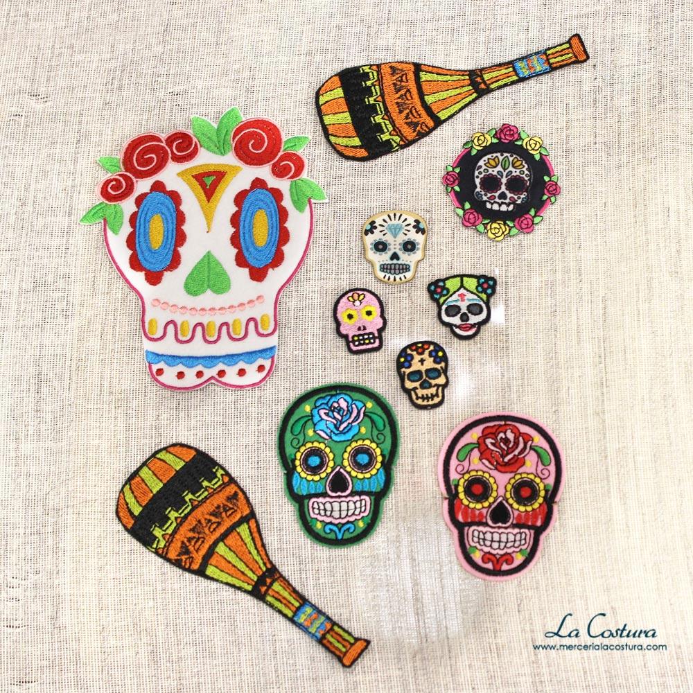 parches-catrinas-mexicanas-customizar-tu-look