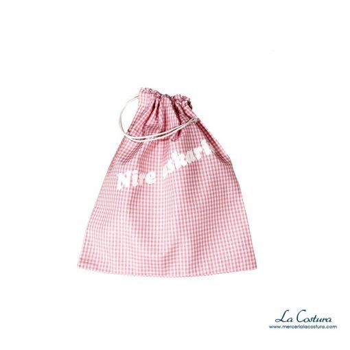 bolsas-merienda-cuadro-vichy-rosa-detalle