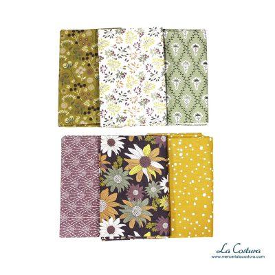 pack-telas-algodon-organicas-flores-otonales-detalles